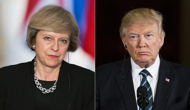 İngiltere Başbakanı May, Trump ile telefonda görüştü