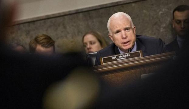 """Senatör McCain : """"ABD, Cumhurbaşkanı Erdoğanın önerisini dikkate almalı"""""""