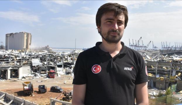 """AFAD Başkanı Güllüoğlu: """"Türkiye Beyrutun yanında"""""""