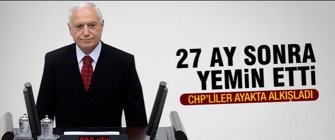 Mehmet Haberal yemin etti