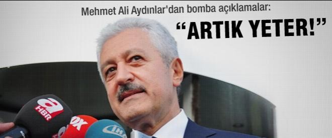 """Mehmet Ali Aydınlar'dan Fenerbahçe yönetimine: """"Yeter artık"""""""