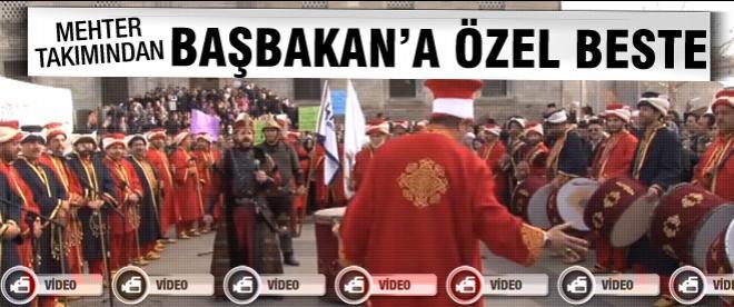 Mehter takımından Erdoğan'a özel beste