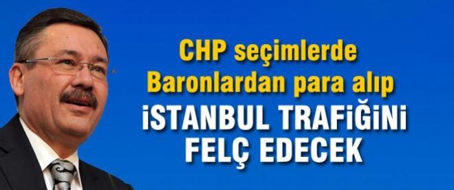 Gökçek: CHP seçime kadar İstanbul trafiğini kiliteyecek