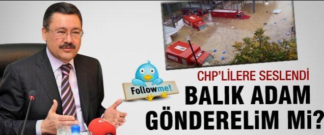 Melih Gökçek: CHP'liler neredesiniz?