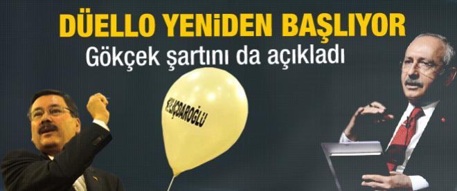 Gökçek'ten Kılıçdaroğlu'na hodri meydan