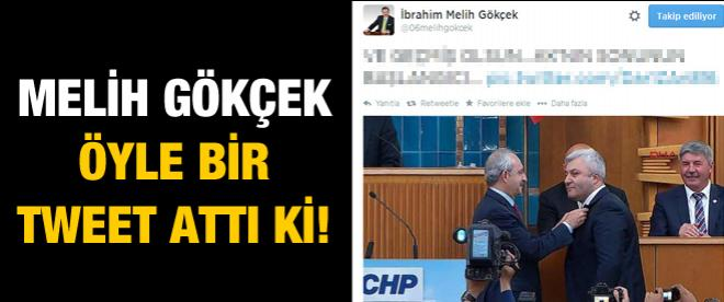 Melih Gökçek'ten Tuncay Özkan tweet'i