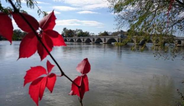 Meriç Nehrinde su seviyesi yükseliyor