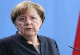"""Merkel'den Kovid-19 salgınıyla mücadelede """"uluslararası iş birliği"""" çağrısı"""