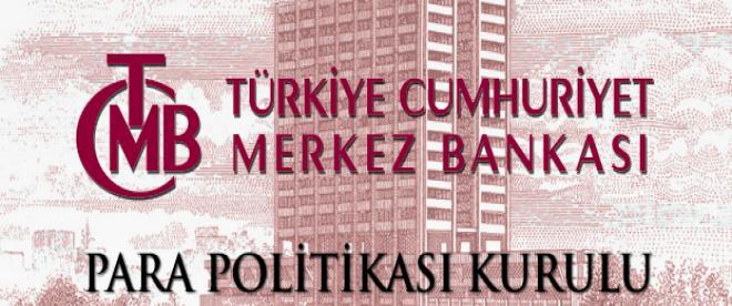 Merkez Bankası, politika faizini yüzde 16,50ye indirdi