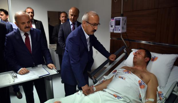 Mersinde polis aracına saldırı: 2 yaralı