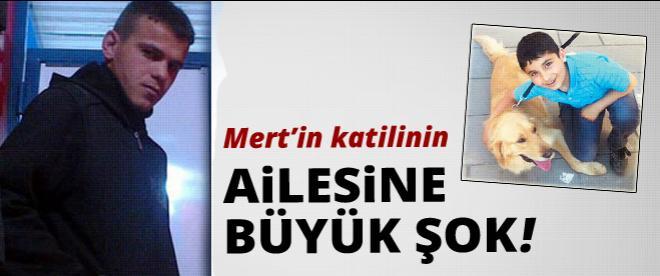 Mert'in katili Aykut Balk'ın ailesine şok