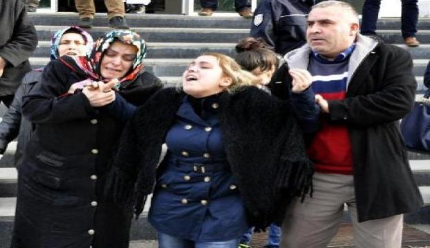 Ölen kızının cenazesine alınmadı