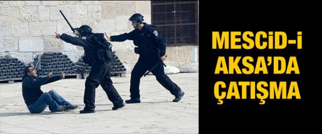 Mescid-i Aksa'da çatışma