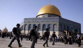 """İsrail'den Mescid-i Aksa'daki """"restorasyon çalışmalarına"""" engel"""