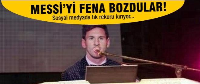 Messi'yi ne hale getirdiler!