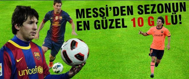 Messi'nin bu sezon attığı en güzel 10 gol