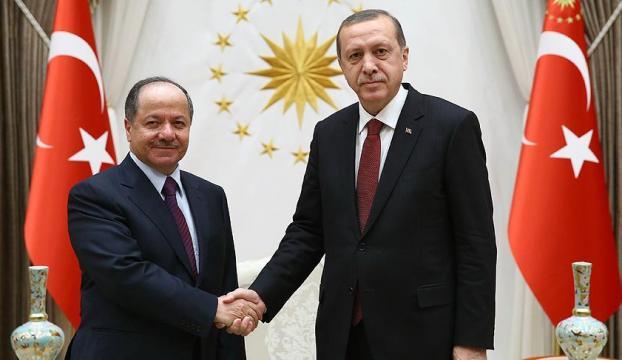 Erdoğan-Barzani görüşecek