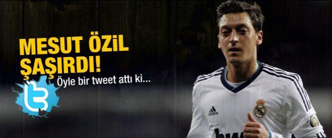 Mesut Özil şaşırdı!