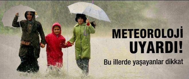 Meteoroloji uyardı. Soğuk ve yağışlı hava geliyor