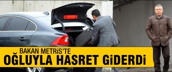 Muammer Güler'den oğluna ziyaret