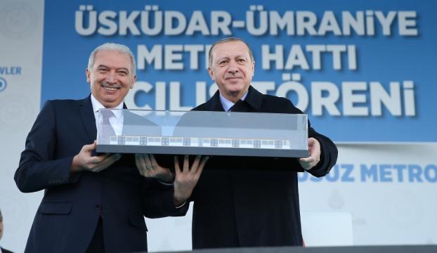 Üsküdar-Ümraniye metro hattı açıldı