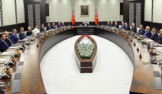 Milli Güvenlik Kurulu toplandı