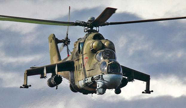 Suriyede Rus helikopteri düştü