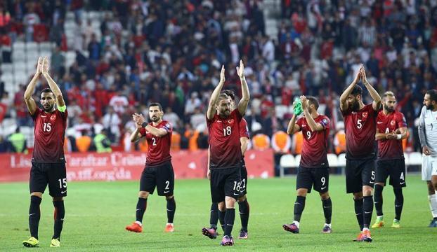 2016, A Milli Futbol Takımına yaramadı