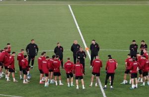 A Milli Takım, İtalya maçı hazırlıklarını tamamladı