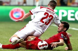 Ay-yıldızlı Milliler Dünya Kupası yolunda Karadağ ile 2-2 berabere kaldı