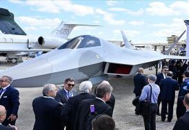 'Milli Muharip Uçağı' Fransa'da görücüye çıktı