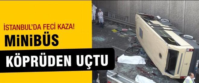 İstanbul'da minibüs kazası