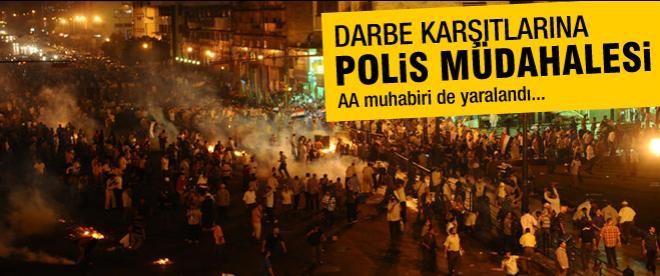 Mısır'da göstericilere polis müdahalesi