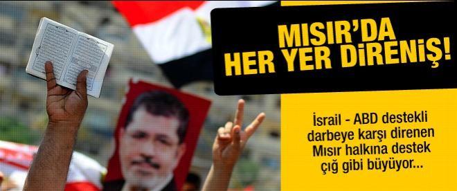 Mısır'da her yer direniş!