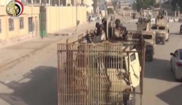 Mısır ordusundan IŞİDe kapsamlı operasyon