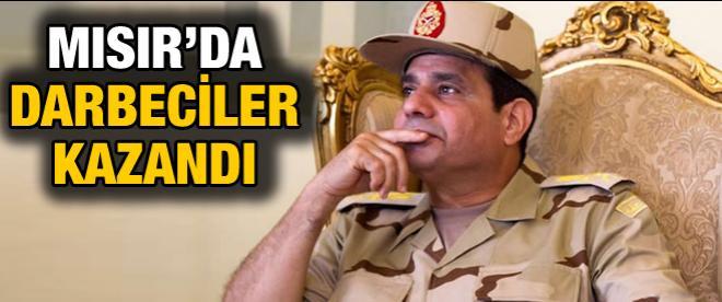 Sonucu belli seçimi Sisi aldı