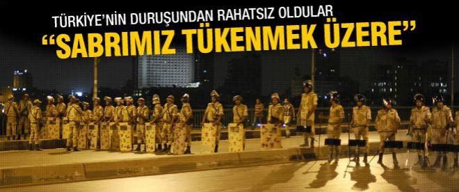 Mısır'da darbeci yönetimden Türkiye'ye tehdit