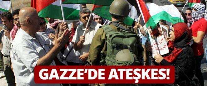 Mısır'ın ateşkes teklifini İsrail kabul etti