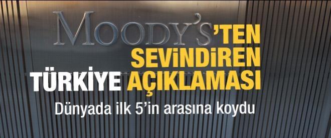 Moody's'ten sevindiren Türkiye açıklaması