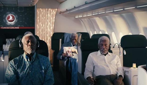 THYnin reklam filminde Morgan Freeman rol aldı