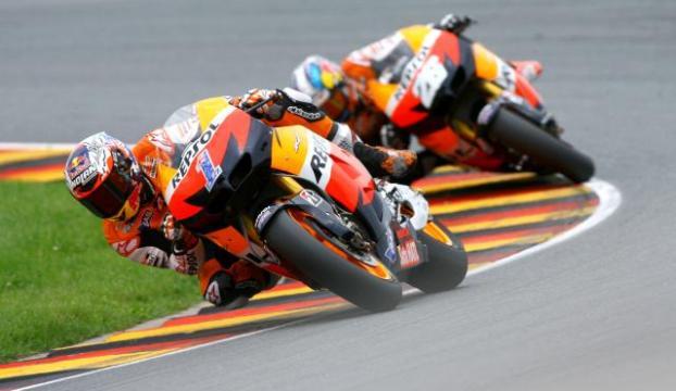 MotoGPnin Avrupa seferi Fransada sürüyor
