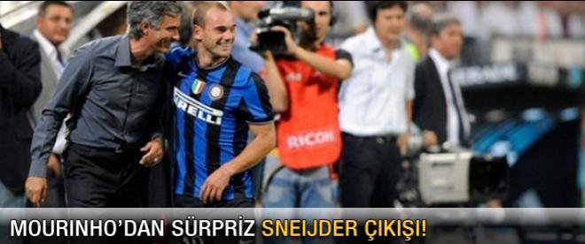 Mourinho'dan Sneijder'e övgü