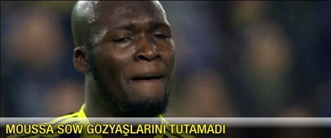 Moussa gözyaşlarını tutamadı