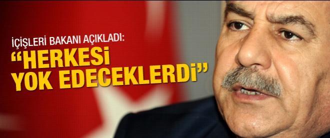 """Muammer Güler: """"Herkesi yok edeceklerdi"""""""