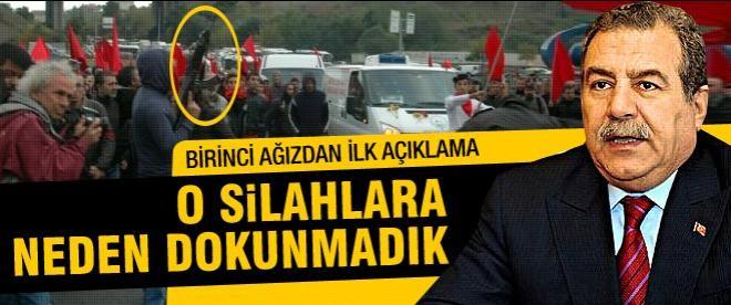 Bakan Güler'den kalaşnikof açıklaması