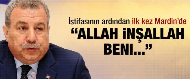 Muammer Güler: Allah inşallah beni ...