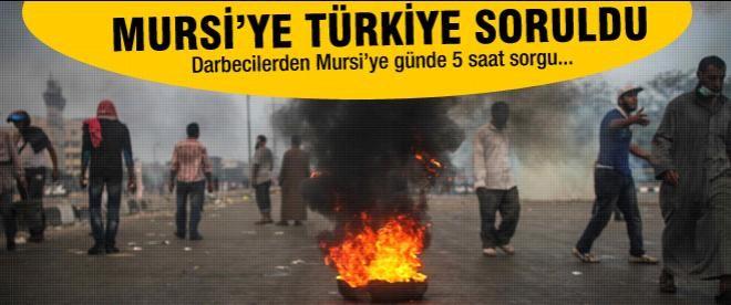 Muhammed Mursi'ye Türkiye'yi sordular