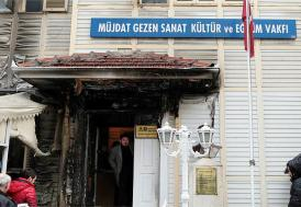 Müjdat Gezen Sanat Merkezi'ni kundaklayan sanığın cezası belli oldu