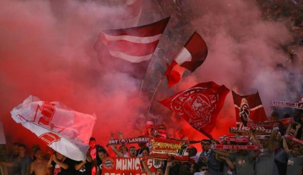 Bayern Münih, Romayı gole boğdu