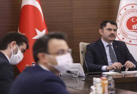 """Bakan Kurum: """"Antalya'da 413 yapının imara aykırı ve izinsiz yapıldığını saptadık"""""""